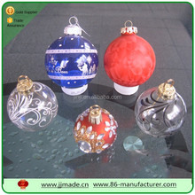 Christmas decoration glass/ photo/clear ball direct form factory