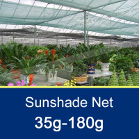 Green/Black 60%-90% Nylon Sunshade Net