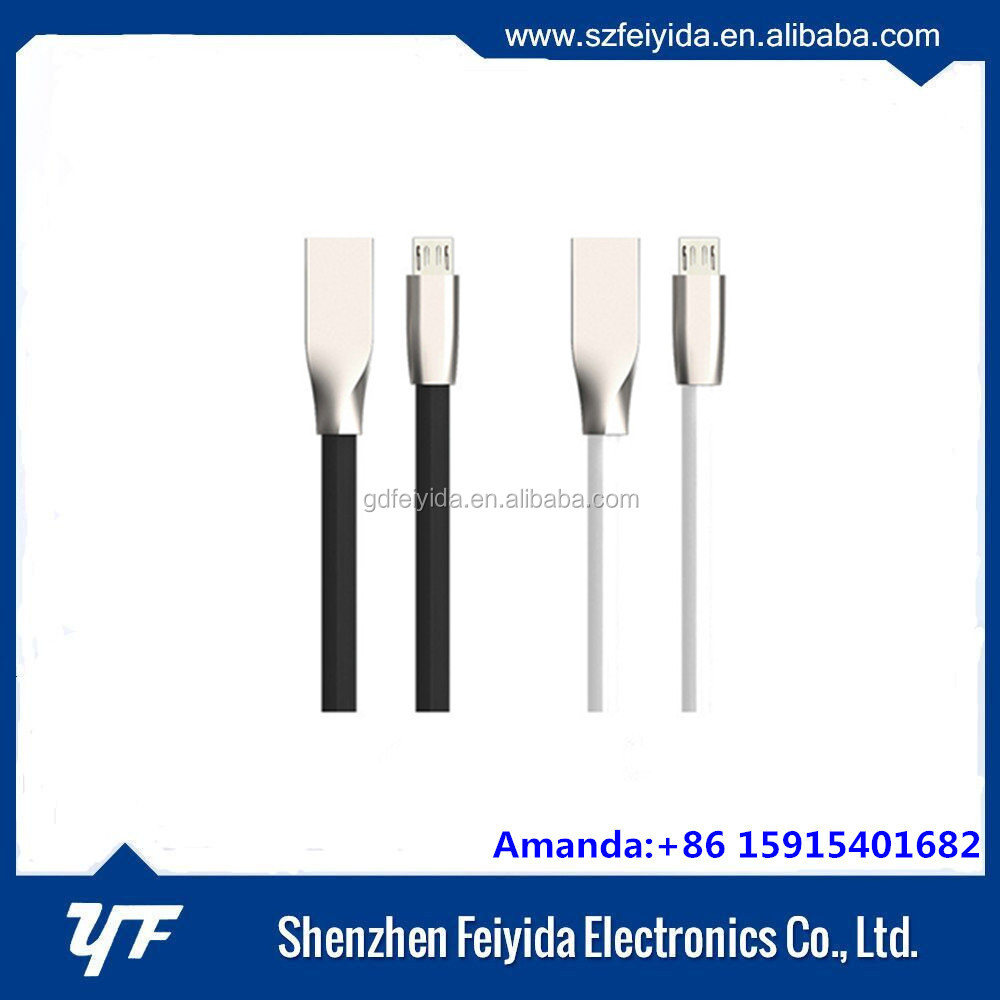 china supplier zinc ally usb phone cable,wholesale light-ning to usb cable for iphone ipod
