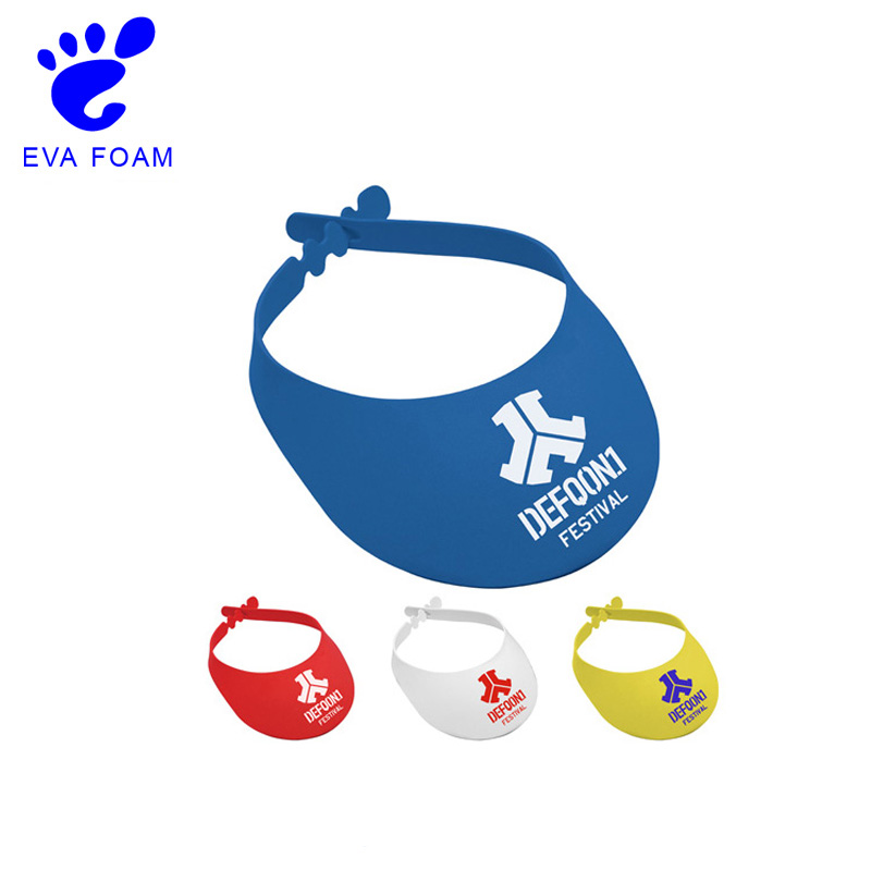 Good quality hot summer kid foam sun visor hats