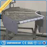 Hot new products for 2015 Food Industry Machinery 316L Metal Weave Wire Mesh Conveyor Belt