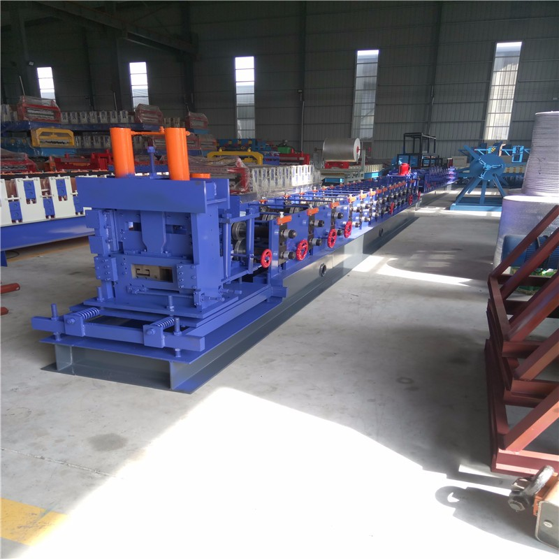 Fully automatic c channel steel frame cad roll forming machine