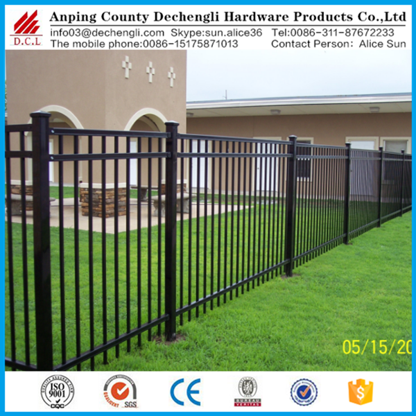 2017 hot sale cheap price high quality wrought iron fence
