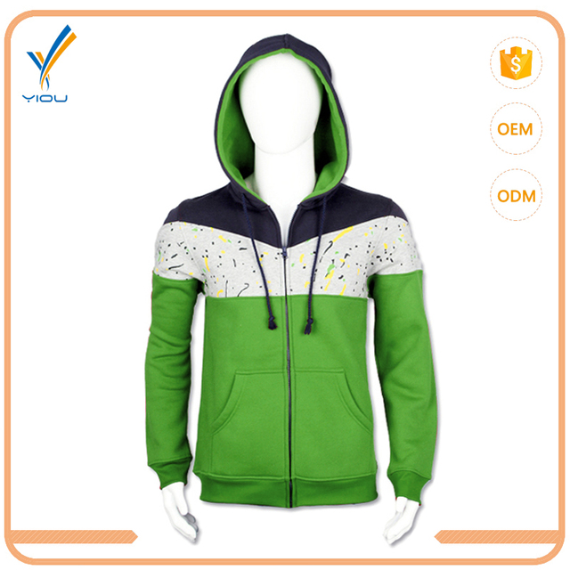 China Clothing Printed Sweatshirt Fleece Hoodie With Different Color