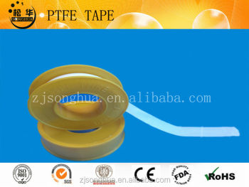 yellow ptfe thread seal tape