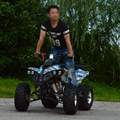 4 wheels legal street bike utility cheap air cooling 125CC quad ATV 4x2