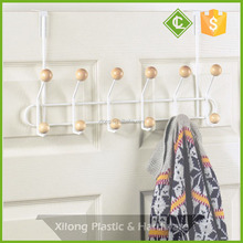 Coat Cloth Over The Door Chrome Hanger