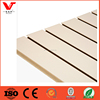 Cream Color Slatwall Panel /Melamine slatwall mdf board /slatwall accessories