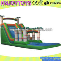 Tree Forest Inflatable Slide for Pool/Giant Safety Inflatable Slide Pool