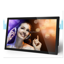 Wall mounted, desktop or floor stand HD dual-core 21.5 or 22 inch networks advertising monitor Remote Manageable