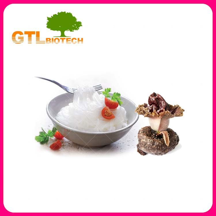 GTL BIOTECH Food Additives Konjac Flour Glucomannan Powder