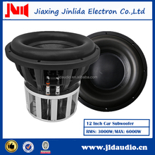High Voice Quality 12 Inch Speaker System With 3000W RMS Speaker Subwoofer
