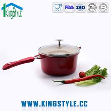 Die-cast aluminum ceramic cookware