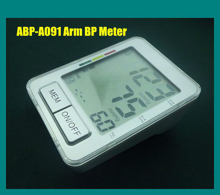 Two User Group 80x70mm Extra Large LCD Display 2 Alarm Clock Reminder Arm BP Machine