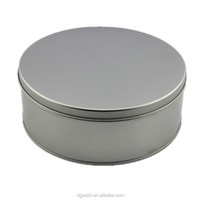 Metal 0.23c tinplate material Material and biscuit and cookie Use Airtight silver polish metal tin box