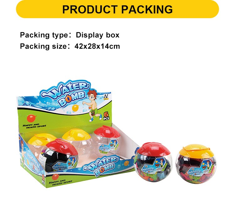 Colorful Summer Water Game Toys Water Bomb