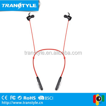 True Wireless ST05 Fashion Neckband Headphones Sport Noise Canceling Headsets