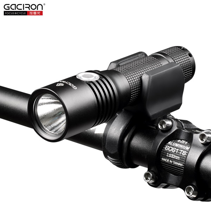 Gaciron Bike accessories 860 lumens super bright multifunction outdoor bike headlight/front <strong>light</strong> motorcycle front <strong>light</strong>