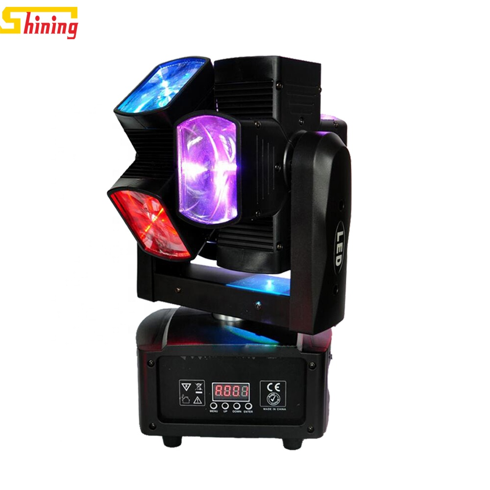 DJ equipment china double wheel 8x10w rgbw 4in1 full color dmx <strong>beam</strong> led moving head