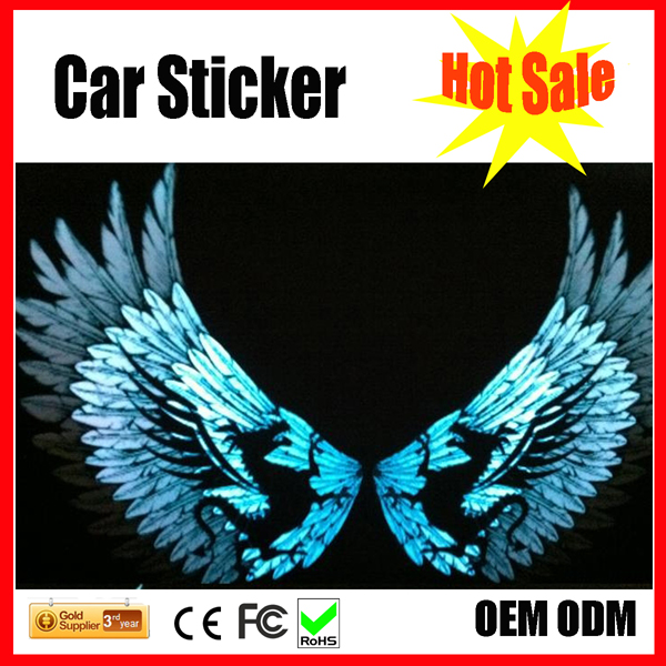 customized design el car window/body el/led sticker