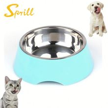 SPRILL Wholesale New Style Travel Low Price Foldable Silicone Dog Bowl