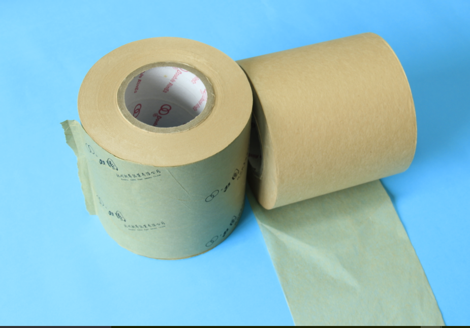 White or natural roll filter paper for tea bags