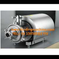 Sanitary stainless steel Self priming centrifugal CIP pump for milk, dairy, drink