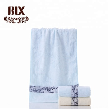 Hot sale 100% bamboo coolig gym bath towel set in summer