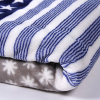 100% Polyester Warp Knitted Super Soft Flannel Fleece Fabric for Blankets/Pajamas