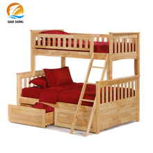 Unique design solid wood kids child bed