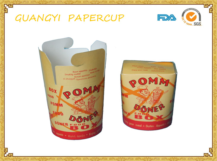 Paper rice/noodle boxes food container manufacturer