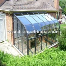 Curved Roof Style Glass Sunrooms