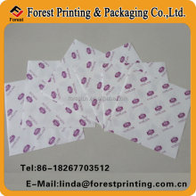 double side open/pretzel food paper bag for pan cakes by hand
