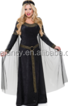 High quality Renaissance Maiden Adult Costume women costume QAWC-8912