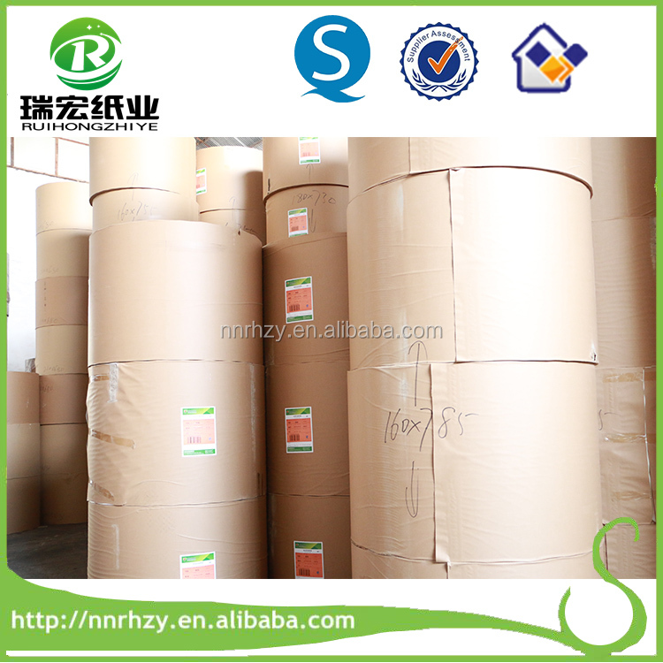 China foctory 150gsm raw metarials for paper cups of uncoated
