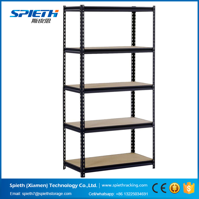 Garage Shelving 5 Tier Boltless Storage Racking Shelves Unit