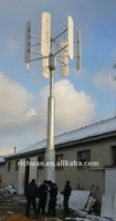 3kw vertical axis home wind turbine wind power system VAWT PMG three blades 3kw wind