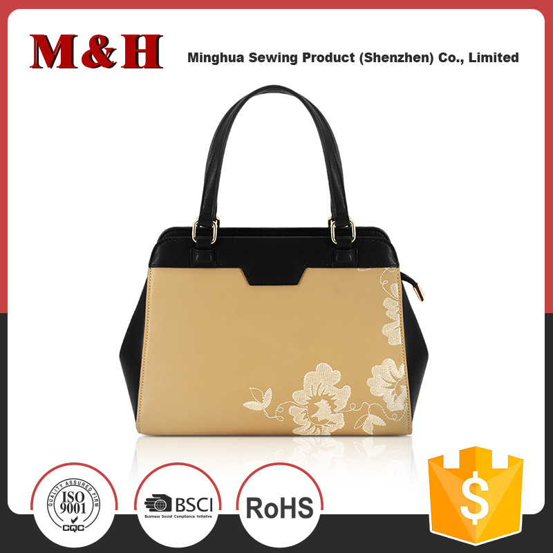 Lady fashion 32x14x21cm Clients' Requirement color handbag bag
