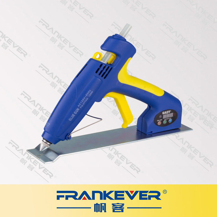 FRANKEVER 125W Professional Industrial Digital Display Glue Gun