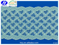 Wide Width Spandex Customized Lace Trim Available in Different Color