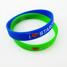 GuangZhou custom Children's Day gifts newest colorful silicone bracelet wristbands