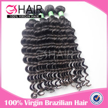 Tangle shedding free top quality 7A grade more wave hair bresilienne hair
