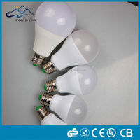 New High lumen UL SAA smd e27 360 degree led bulb 9w sphere