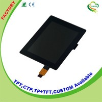 Capacitive 3.5 inch lcd display touch panel with 280cd/m2 Brightness
