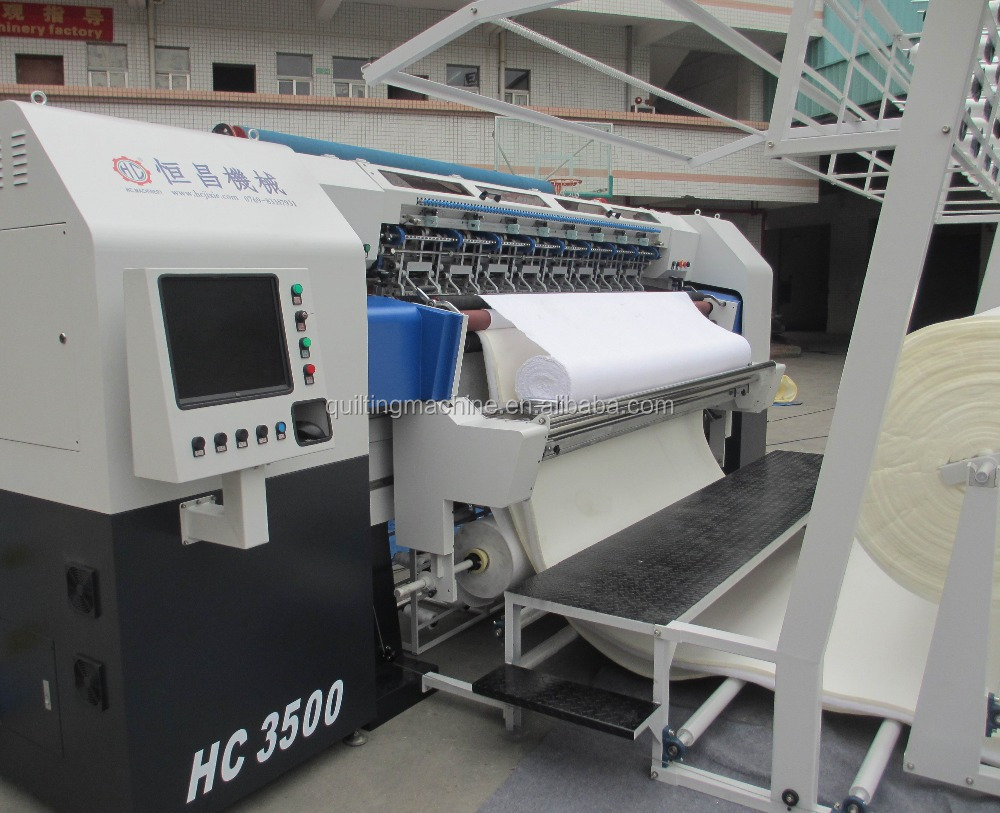 3500 High speed multi-function Chain Stitch Mattress Machine