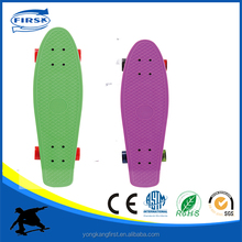 Factory best selling max loading over 100kg pastic skateboard with lowest price