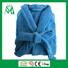 wholesale cheap super soft coral fleece adult bathrobe