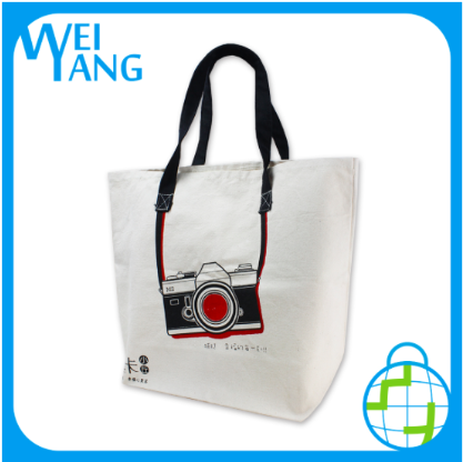 Factory for Giveaway Custom 16oz Cotton Canvas Tote Shopping Bag