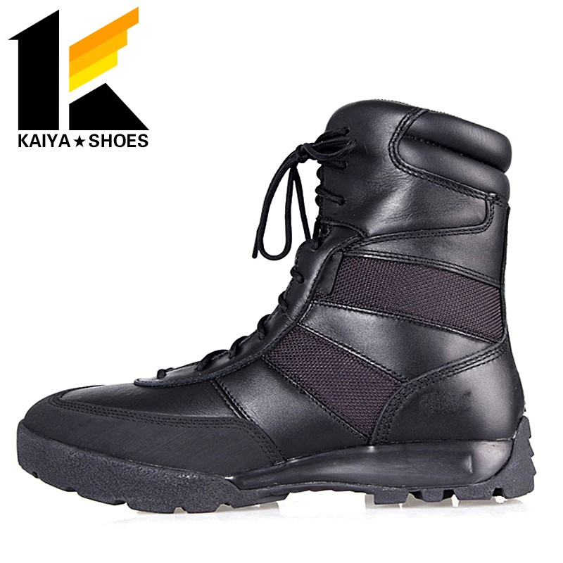 MOD approved EVA+rubber sole 8 inch military troops combat boots for tactical