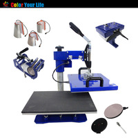 Combo Multi Function 6 in 1 Heat Press Printing Machine